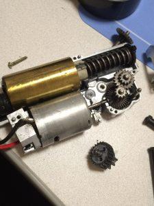 MP7A1メカボ分解
