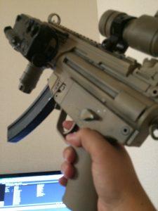 MP5k+タンゴダウングリップ