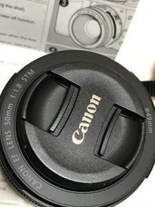 Canon 単焦点レンズ 3