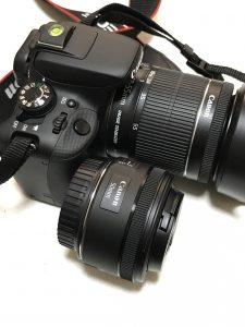 Canon 単焦点レンズ 4