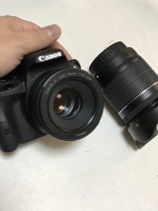 単焦点レンズ EF50mm F1.8 STM