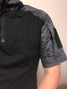 半袖コンバットシャツ