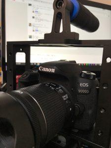 Canon一眼レフカメラ9000D