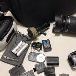 ガンカメラや一眼レフの予備バッテリー(*´ー`*)